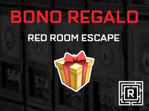 bono regalo de Red Room Escape